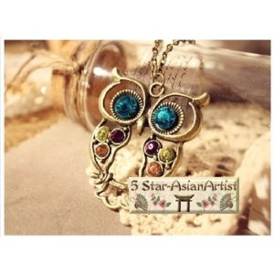 Adorable Owl Necklace for $.99 shipped!