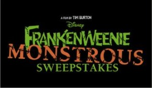 FrankenWeenie Sweepstakes – Win a Disney Vacation!