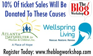 The Blog Workshop for Bloggers- Ticket Sales End May 10th  #TBW #Spon