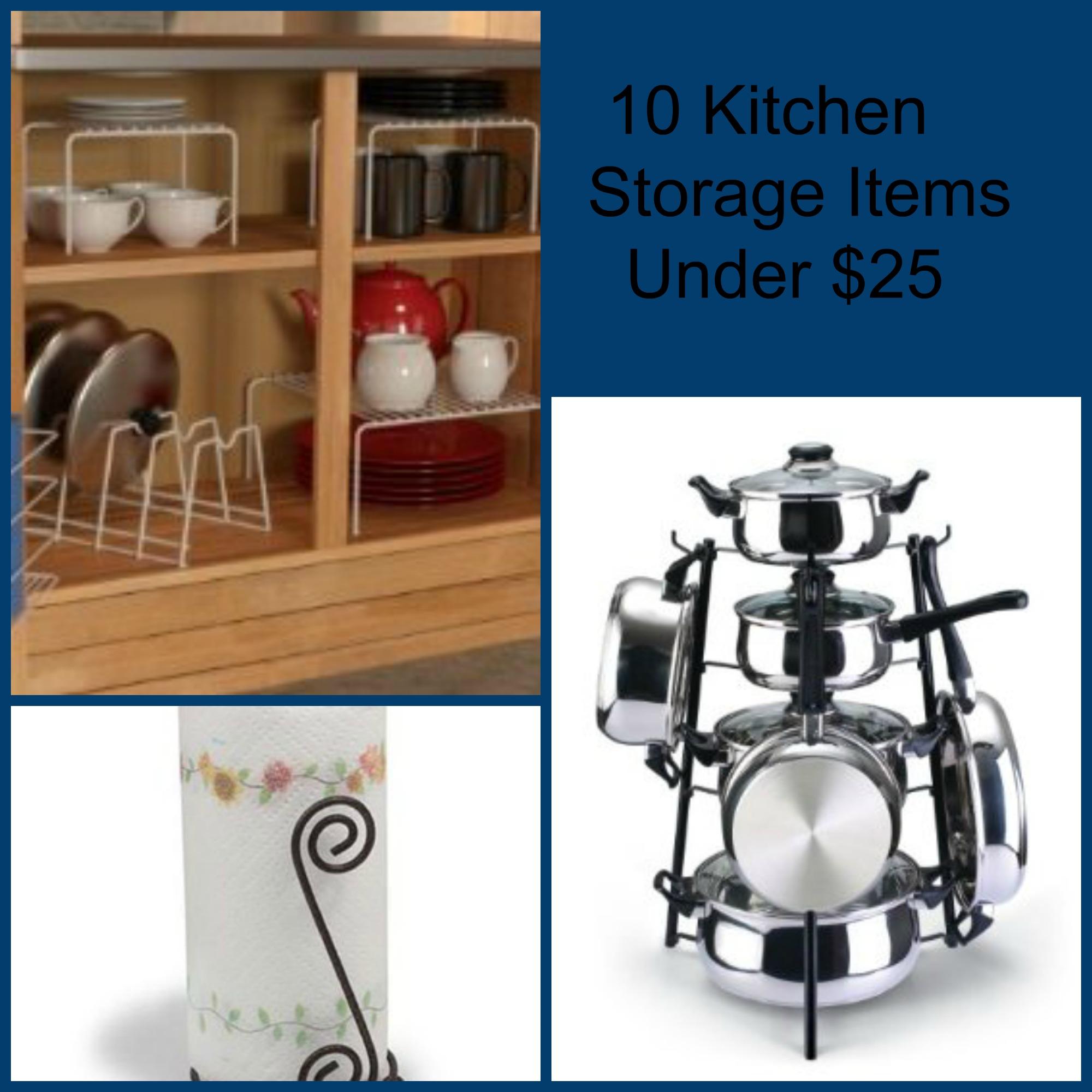 Kitchen Organization For Baby Stuff: 10 Kitchen Organizing Items Under $25