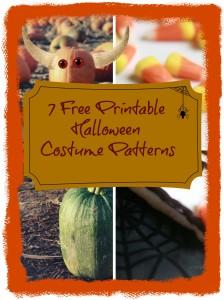 7 free halloween costume patterns