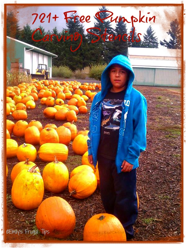 721 plus pumpkin stencils
