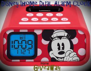 Disney ihome Dual Alarm Clock Giveaway