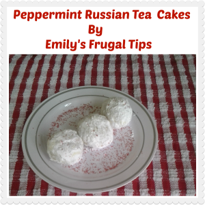 peppermint russian tea cookies