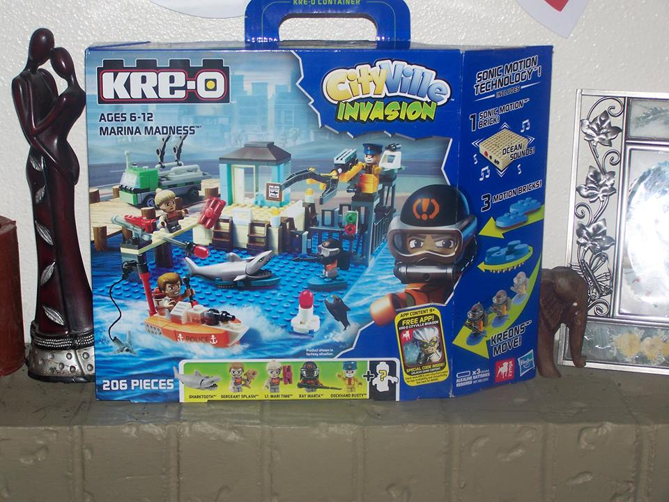 Holiday Gift Guide - KRE-O Marina Madness CityVille Invasion