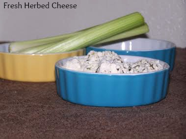 fresh herbed cheese 2