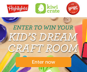 Kiwi Crate Giveaway – Celebrate National Crafting Month and Enter to win Your Dream Craft Room