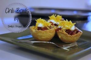 Good Cook Kitchen Experts, Bake A Bowl- Mini Chili Bowls Recipe