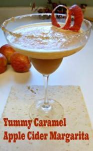 Caramel Apple Cider Margarita