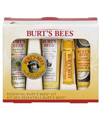 burts bees mani pedi gift set