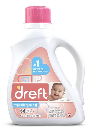 Soothe Your Babies Skin This Winter With Dreft Laundry