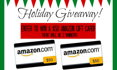 Amazon Giveaway – Enter to Win one of TWO $50 Prizes! #holidaygiving #Amazon