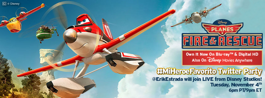 Disney Planes Fire & Rescue DVD Review & Giveaway #MIHeroeFavorito