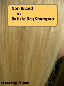 Which Is Better: Non Brand Dry Shampoo Or Batiste?