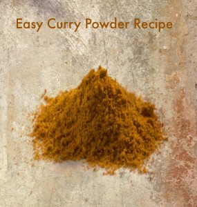 Make Your Own: Curry Powder Recipe