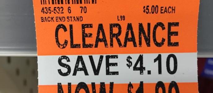 Walgreens – Sweatpants and Sweatshirts on Clearance for $1.89