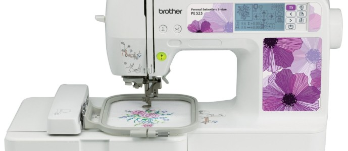 Brother PE525 Embroidery Machine On Sale for $260 Shipped
