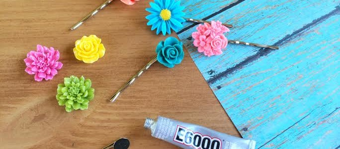 How to Make Bobby Pin Flowers