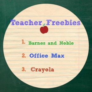 List of Teacher Freebies
