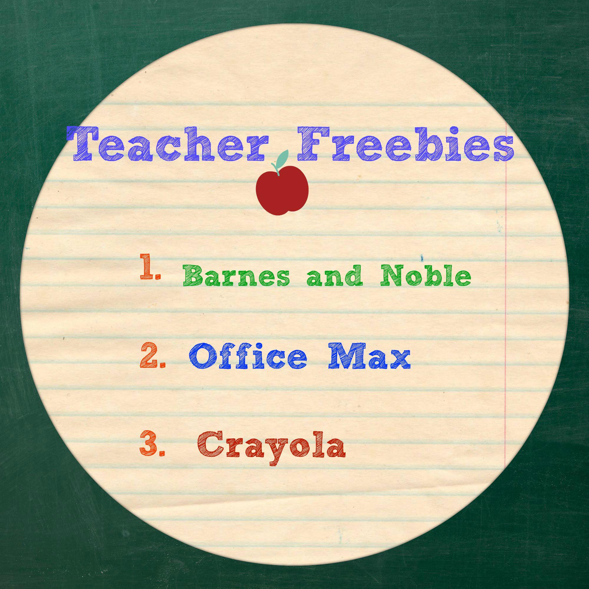 teacher freebies pic