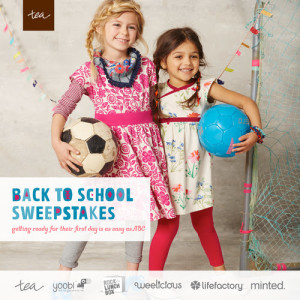 Tea Collection Back to School Sweepstakes Over $1000 in Grand Prizes (3 Winners)