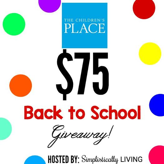 Children's Place Giveaway – Prize is a $75 Gift Card