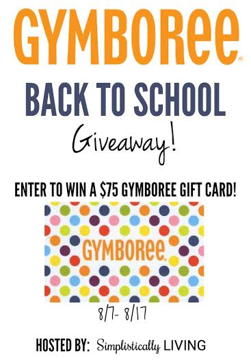 Gymboree Gift Card Giveaway