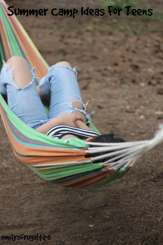 Summer Camp Ideas for Teens