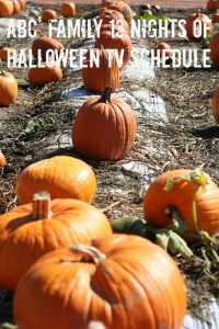 ABC Family 13 nights of Halloween Schedule 2015