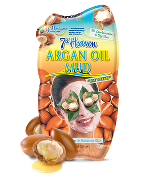 7th heaven argan oil mud mask