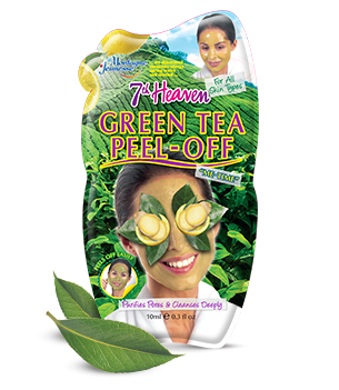 7th heaven green tea peel off mask
