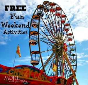 Fun, Free or Cheap Family Friendly Weekend Activities