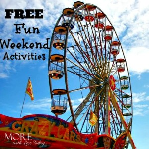 Fun, Free or Cheap Weekend Activities with Something for Everyone!