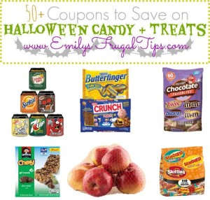 50+ Coupons to Save on Halloween Candy + Treats