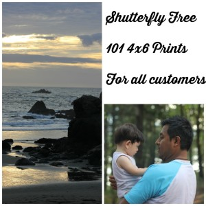 Shutterfly Free 101 4×6 Prints With Promo Code Inside