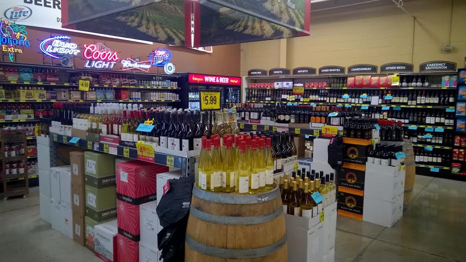 grocery outlet wine isle