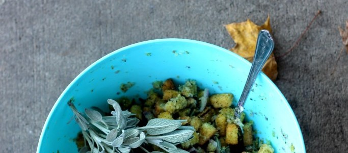 Easy Turkey Stuffing Recipe for Cornbread Sage Infused Stuffing