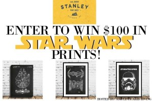 Star Wars Prints Giveaway – $100 Prize