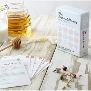 the natural beauty skincare deck