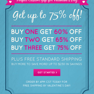 Easy Canvas Prints – 75% Off