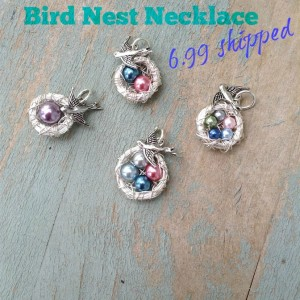 Mama Bird Nest Necklace $6.99 Shipped