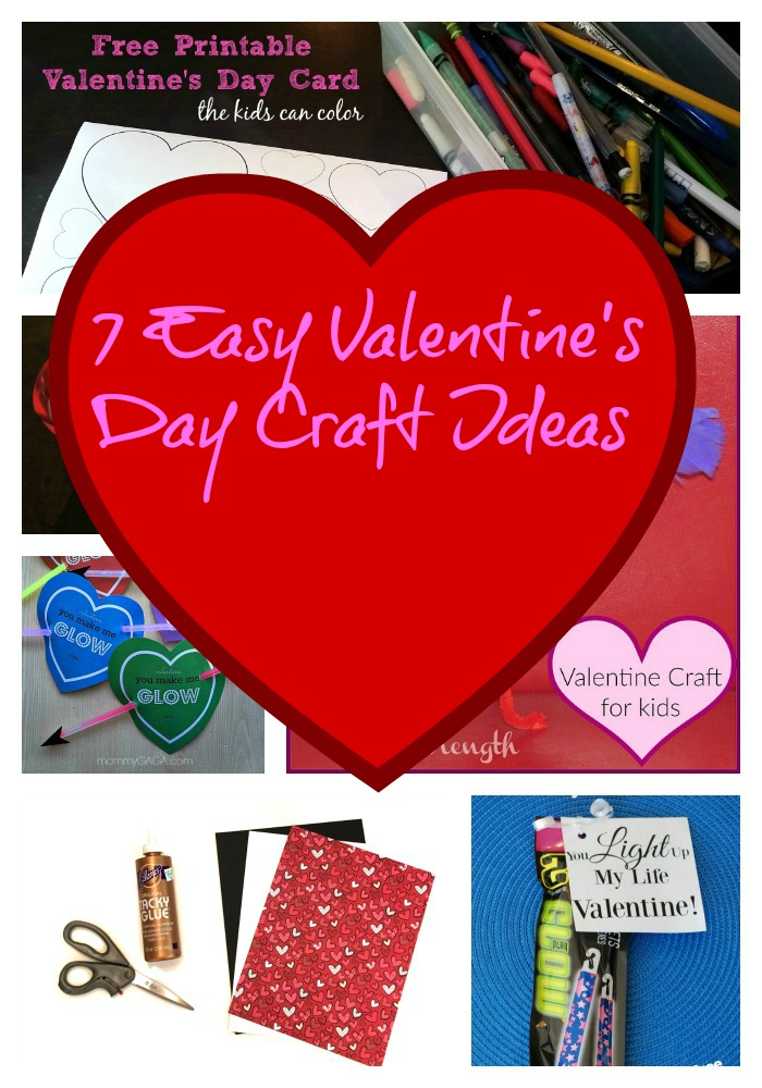 valentine day crafts kids