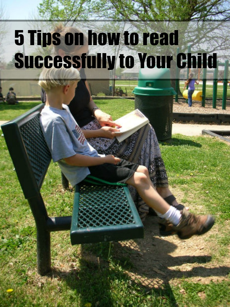 5 tips on how to read successfully to your child