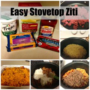 Easy 30 Minute Stove Top Ziti