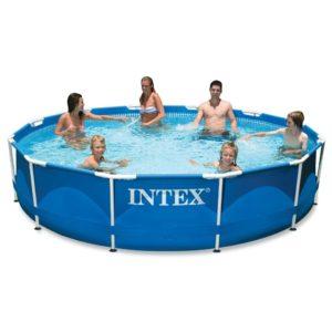 Intex 12ft X 30in Metal Frame Pool Set $112.49 (40% off)!