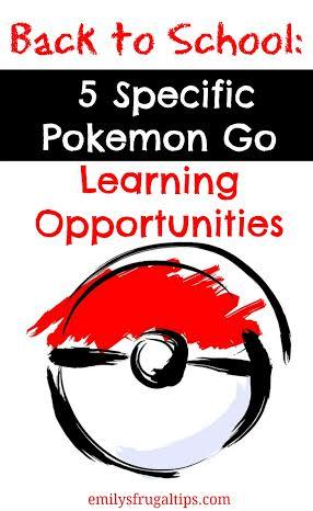 5 pokemon go learning opportunities