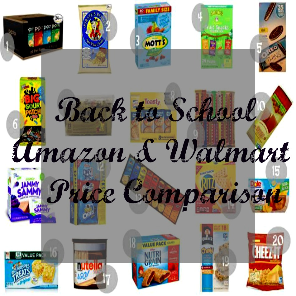 back to school snack comparison