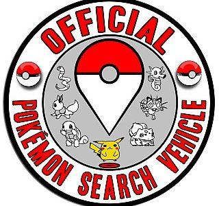 Pokemon Search Vehicle Decal