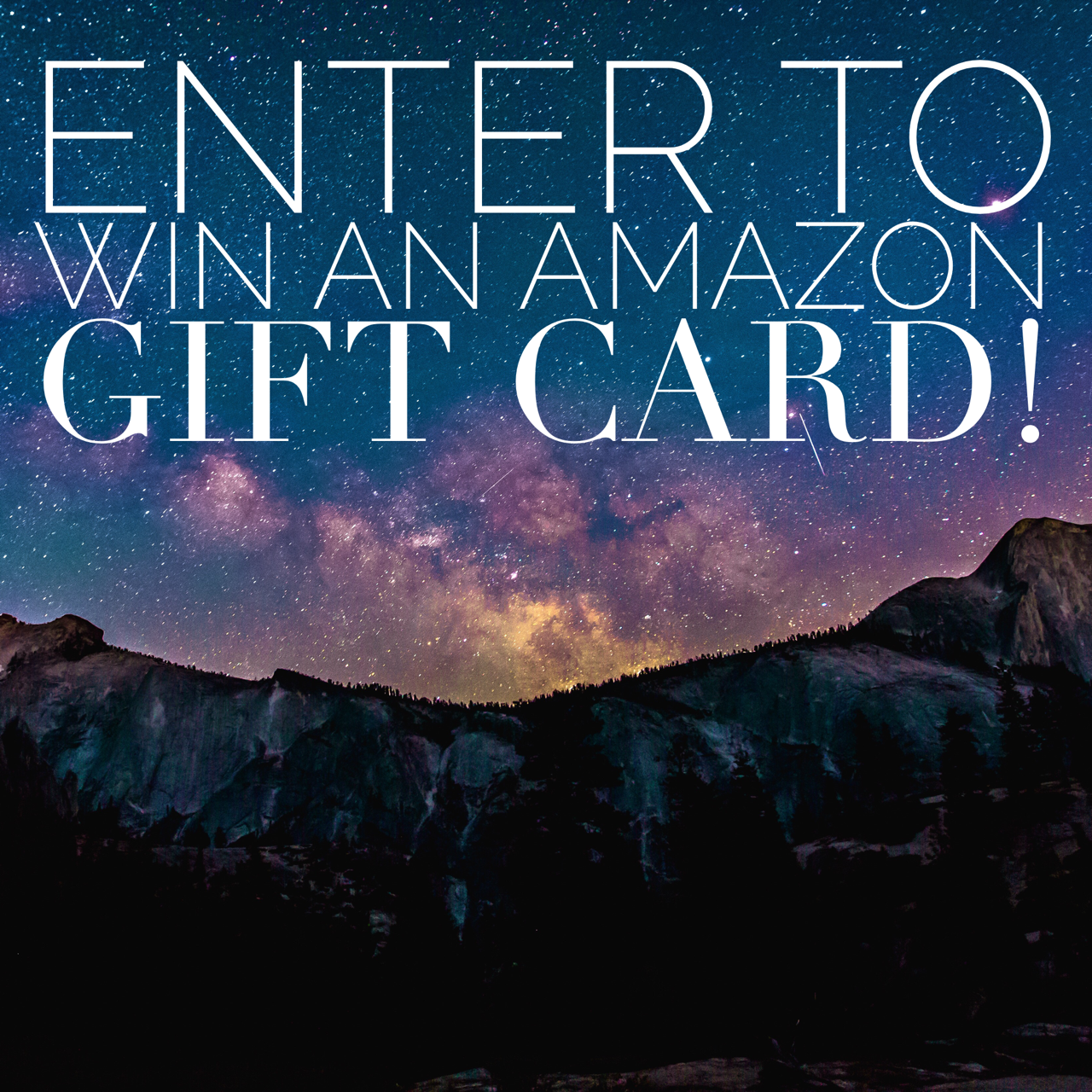 Enter to Win a $300 Amazon Gift Card