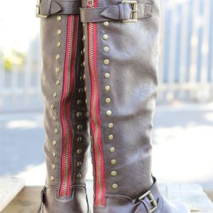 Back Studded Fashion Boots #BackToSchool